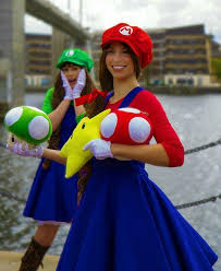 23 super mario and luigi costumes it s the super mario sisters