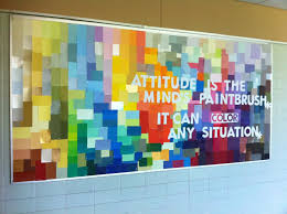 image of colorful office soft board decoration ideas