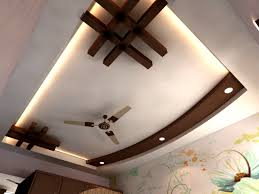 Living Room Accessory Creative Black Wooden Accessories Pop Ceiling For Living Room With