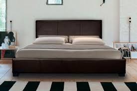 giomani mona 180 modern leather bed