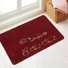 ultra thin rug kitchen corridor ultra thin rug antiskid rubber bottom doormat anti skip embroidery rub