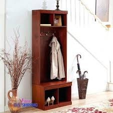 Coat Rack Solutions Extraordinary Coat And Shoe Storage Best Wooden Hall Trees Images On With Shoe