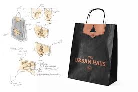 Urban Packaging Design The Urban Haus Christmas Packaging Penang Web And Graphic