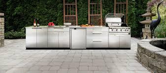 Stainless Steel Outdoor Kitchen Outdoor Kitchen Stainless Steel Newage Ca