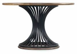 dining tables round wood dining table furniture room studio cinch black legs