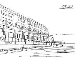 It's wonderful that, through the process of drawing and coloring, the learning about things around us does not only become joyful. Pier B Resort Coloring Pages Pier B Resort Duluth Minnesota