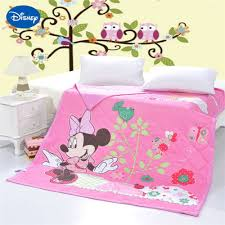 Pink Minnie Mouse Bedroom Decor Online Get Cheap Minnie Mouse Baby Bedding Aliexpresscom