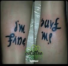 фото татуировки надпись перевертыш в стиле надписи татуировки на