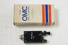 trolling motor circuit breaker omc trolling motor circuit breaker 392249 nos