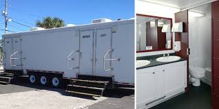 bathroom trailers. Blacktie Optimum 11 Stall Portable Bathroom Trailer Rental. Trailers