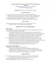 Communication Skills To List On Resume Resume Example Skills List Of For Sample Great Objective Statements 6