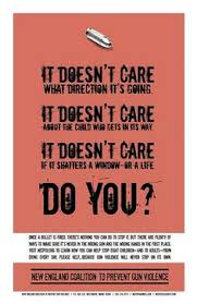 anti gun control poster. Brilliant Gun New England Coalition To Prevent Gun Violence Ad With Anti Control Poster