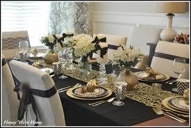 Elegant Gold and White Thanksgiving Dcor Ideas _10