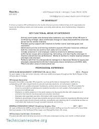 Hr Resume Sample Hr Resume Format Resume Human Resources Executive