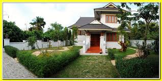 the identity of the thai style house plans