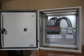 manual changeover switch 4 pole 100 amp manual steel case picture of manual 100 amp abb 3 phase n