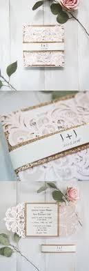 7 Super Elegant Pink Wedding Invitations From Ewi 2017 New