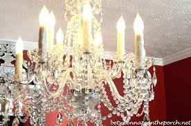 chandeliers candle sleeves for chandelier ideas socket replacement and covers awesome