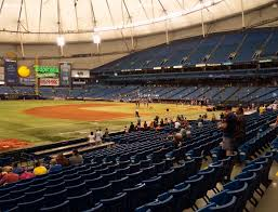 Rays Seating Chart Tropicana Field Section 127 Seat Views Seatgeek