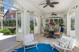 sunroom interiors. View In Gallery Gorgeous Sunroom White With A Hint Of Blue [Design: Danka Interiors] Interiors