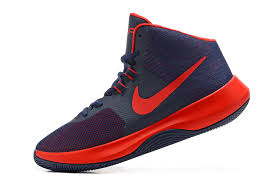 nike basketball shoes 2017. adaptable nike air precision 2017 navy blue red men\u0027s casual basketball shoes