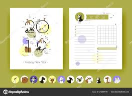 2019 Cover Template Planner Breeds Dogs Organizer Schedule Notes