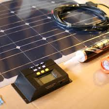 vw t4 t5 t6 stick on solar panel kit