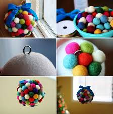 Christmas Ball Decoration Ideas Inspiration Make A Felt Ball Christmas Decoration Find Fun Art Projects To Do
