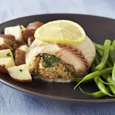 spinach gruyere stuffed tilapia