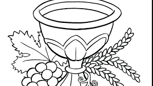 Eucharist Coloring Pages At Getdrawingscom Free For Personal Use