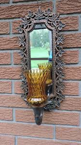 vintage coppercraft guild mirror wall