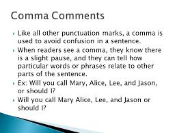 when is a comma used practice for the ahsge like all other punctuation marks a comma