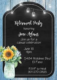 Invitation Cards Designs For Retirement Party 100 Retirement Party Invitations Guests Cant Resist