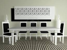 Modern White Dining Rooms - Modern interior design dining room