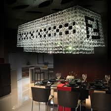 chandelier large rectangular chandelier property brothers hanging white and black crystal lamp jpg large rectangular chandelier e50