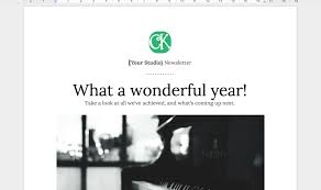 Music Newsletter Templates 30dsr Day 27 Set Up Your Teaching Studio Newsletter Colourful Keys