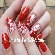 Elegant Nail Designs with Red Polish
