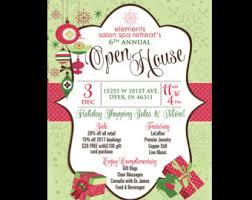 christmas open house flyer christmas bazaar holiday craft fair invitation poster