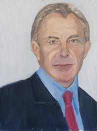 bush exhibits 30 painted portraits of