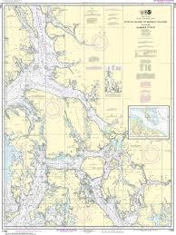 Noaa Nautical Chart 17360 Etolin Island To Midway Islands Including Sumner Strait Holkham Bay Big Castle Island