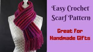 Crochet Scarf Size Chart Free Crochet Scarf Pattern Very Easy To Make For Beginners
