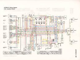 the kz gpz shop manual 1980 1984 wiring diagram for the 80 h1 us
