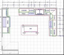 Simple Kitchen Layout island kitchen floor plans counter height kitchen table with storage 2913 by uwakikaiketsu.us