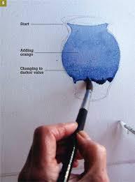 cobalt blue container