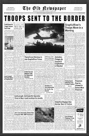 School Newspaper Layout Template Newspaper Layout Template Classic Newsy Front Page For Any School