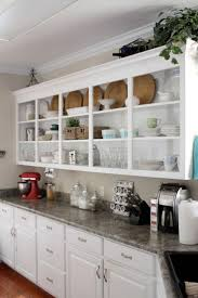 Open Shelving In Kitchen 17 Best Ideas About Open Kitchen Shelving On Pinterest Kitchen