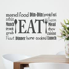 kitchen wall decal unique kitchen wall decal