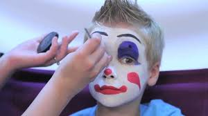 how to facepaint a clown in 3 easy steps rubie s makeup tutorial you