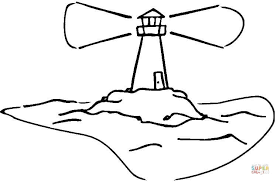 Small Picture Lighthouse coloring page Free Printable Coloring Pages