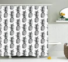 smlf gray chevron shower curtain bathroom decorating black